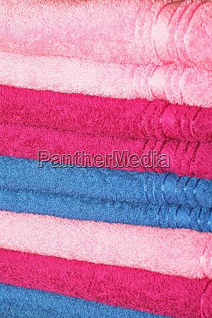 towels pink