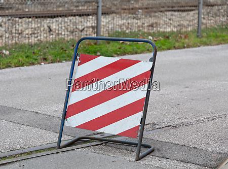 square caution sign