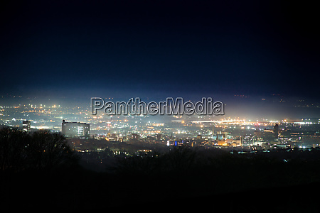sheffield skyline at night
