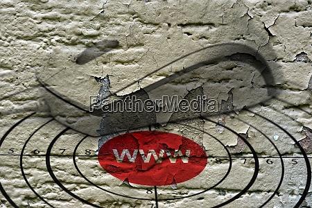 www target grunge concept