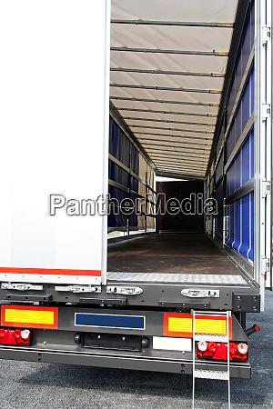 lorry door