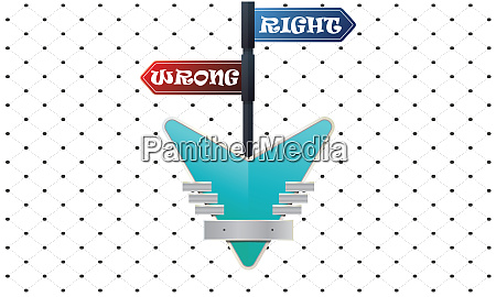 flag contains right or wrong with