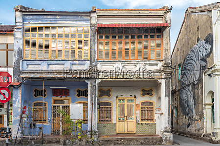 old town of penang colonial buildings