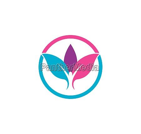 healthy, life, medical, logo, template, vector - 28594689