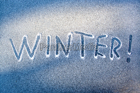 winter inscription