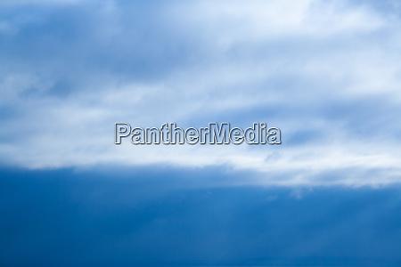 clouds unusual pattern