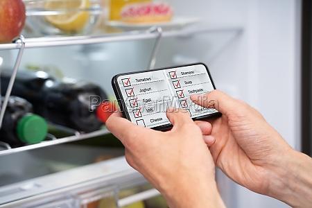consumer grocery shopping list app