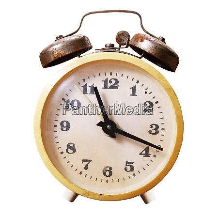 alarm clock closeup