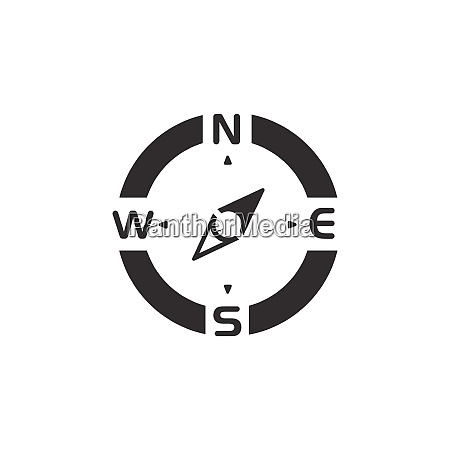 compass., north, east, direction., icon., weather - 28603269
