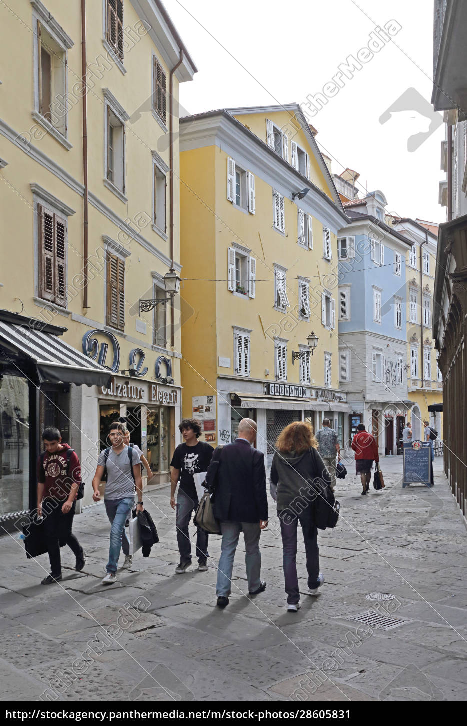 old, town, trieste - 28605831