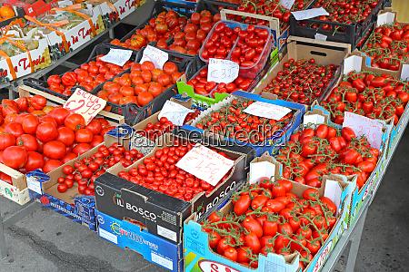 tomato, market, italy - 28605715