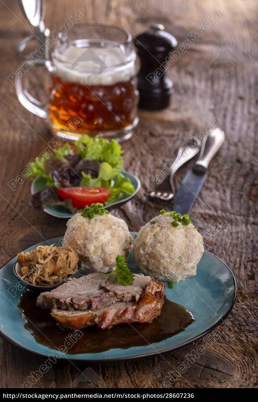 bavarian, roast, pork - 28607236