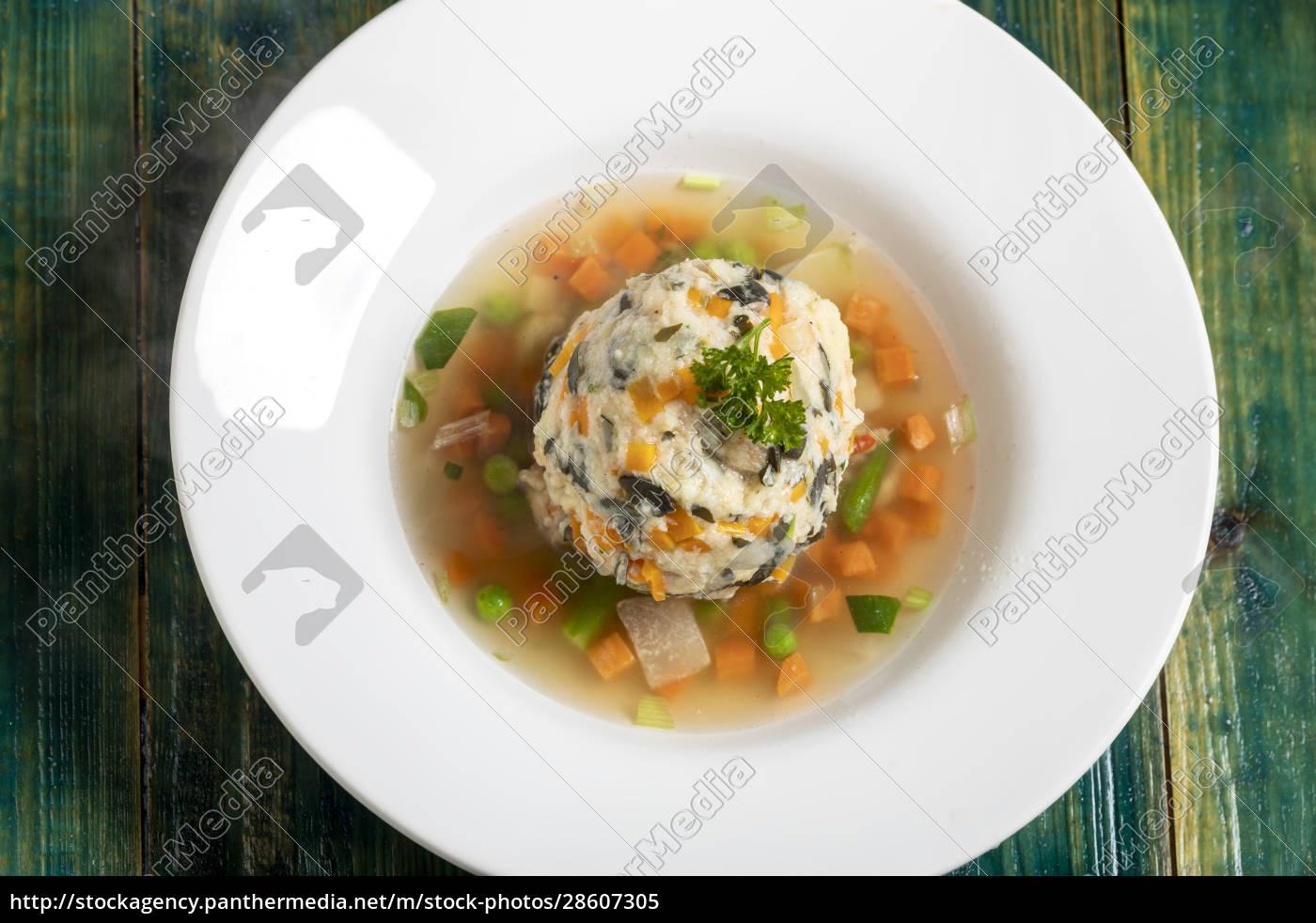 soup, with, a, dumpling - 28607305