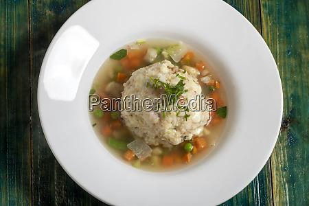 soup, with, a, dumpling - 28607307