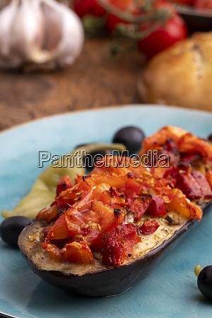 turkish, karniyarik, a, stuffed, aubergine - 28607271