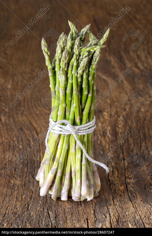 wild, green, asparagus - 28607247