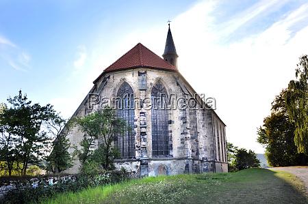 monastery church in wittenburg near elze