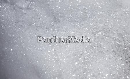 bath foam bubbles abstract closeup