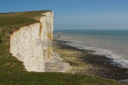beachy head lighthouse sussex england