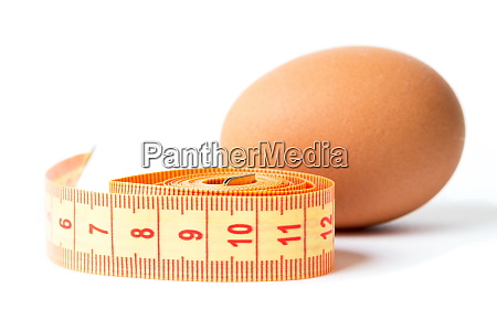 eggs with the diet meter on