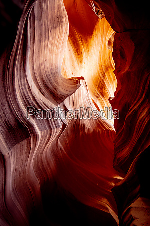 wonderful colors of the upper antelope