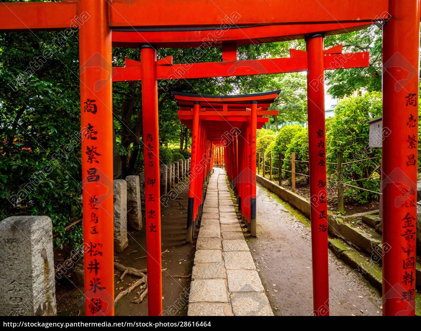 nezu, jinja, shrine, -, the, famous - 28616464
