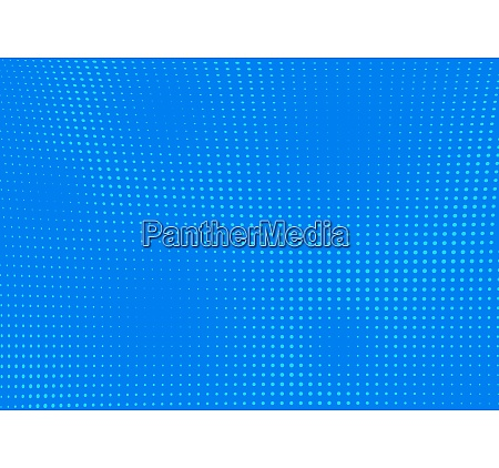 blue dotted pop art halftone background