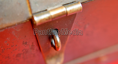 vintage metal latch locking bolt