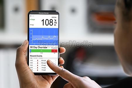 continuous glucose monitor diabetes blood sugar