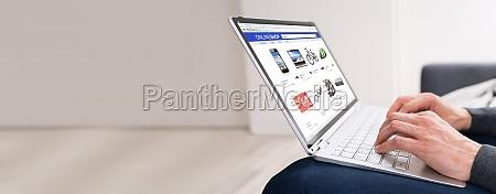 online shopping mobile tech