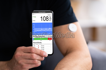 continuous glucose monitor blood sugar test