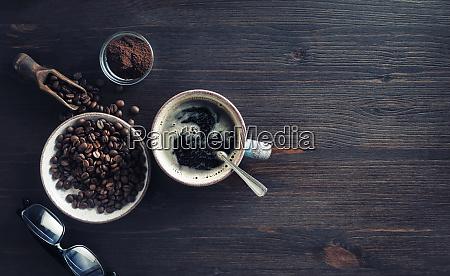 delicious fresh coffee