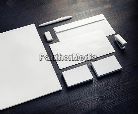 blank branding template
