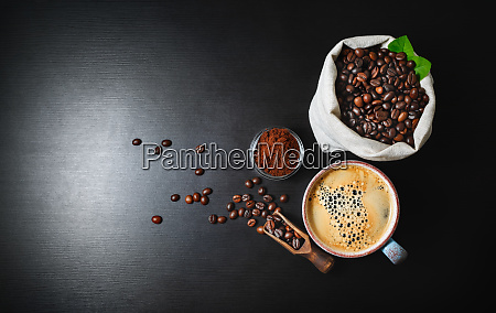 brewing coffee background