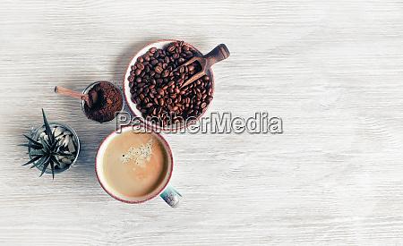 tasty coffee background