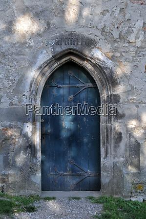 church door of the monastery church