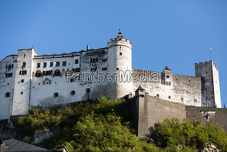 fortress hohensalzburg beautiful medieval castle in