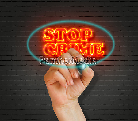 stop, crime - 28637954