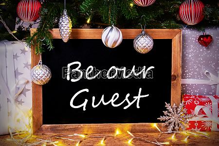 chalkboard tree gift fairy lights be