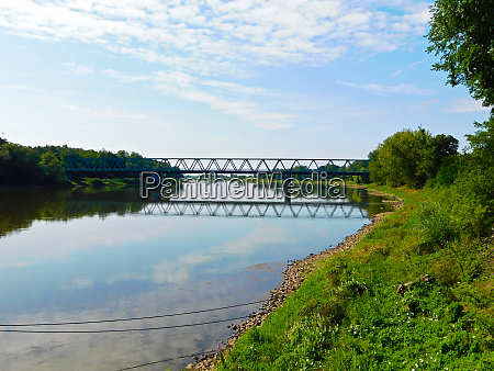 the border river between germany and