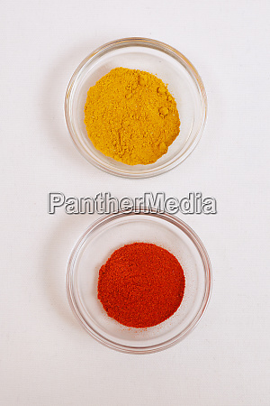 curry paprika spices