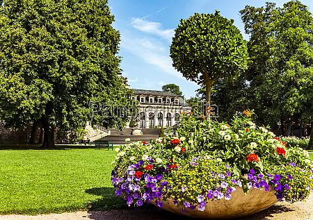 fulda germany the castle garden