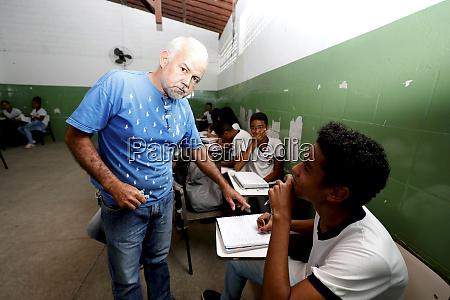 teacher in public school in bahia