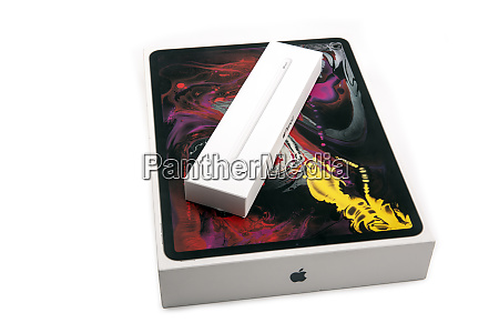 apple i pad pro with apple