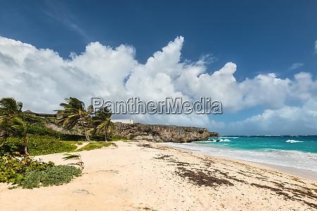 bottom beach in barbados island