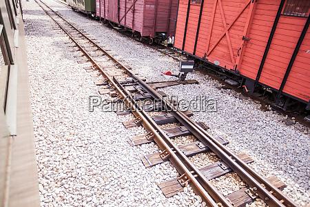 narrow gauge heritage railway tourist