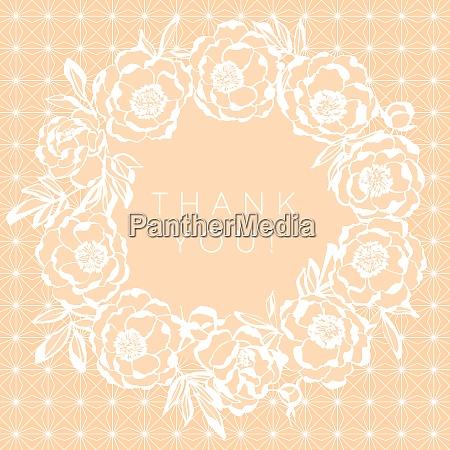 elegant beige on white wedding floral