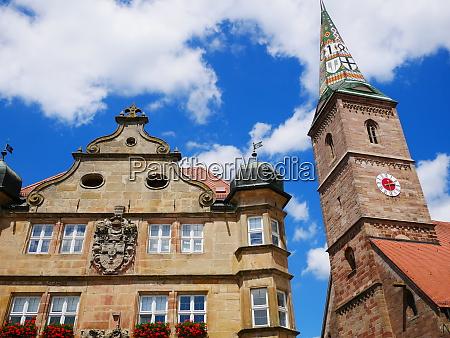 wolframs eschenbach liebfrauenmuenster church deutschordenschloss