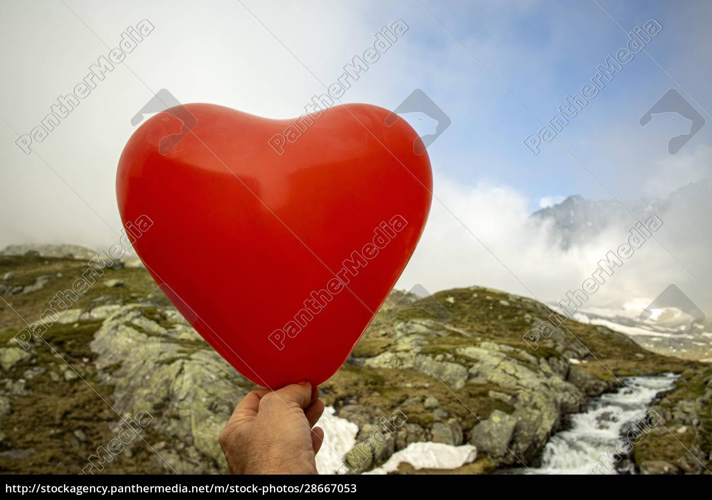 balloon, heart - 28667053