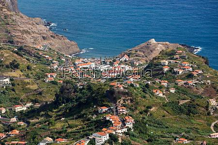 porto da cruz on the